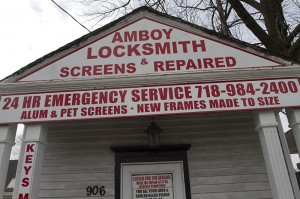 Amboy Locksmith - Close Up Front View