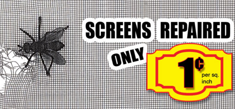 Screens Repaired - SINY