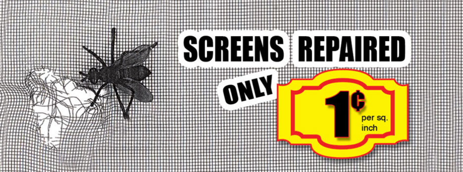 Screen repair by Amboy Locksmith in Staten Island