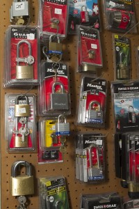 Various locks for sale