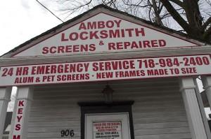 Amboy Locksmith - Close Up Front View